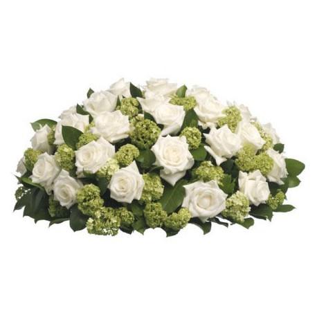 Rouwboeket Kruiningen, uitvaart bloemist